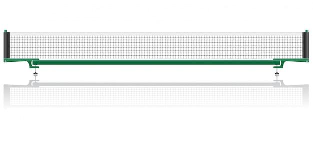 Filet de ping-pong de tennis de table.