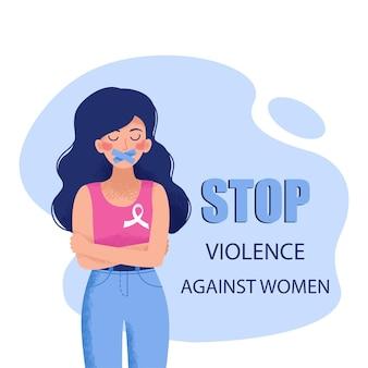 La fille aux cheveux bleus ne parle pas de violence