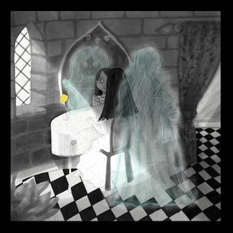 La fille et le fantôme