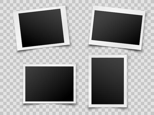 Film sur fond transparent. la base de la photo.