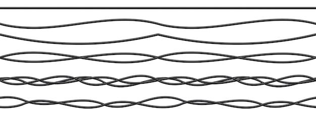 Fils électriques flexibles, câbles de connexion