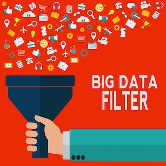 Filtre de données volumineuses