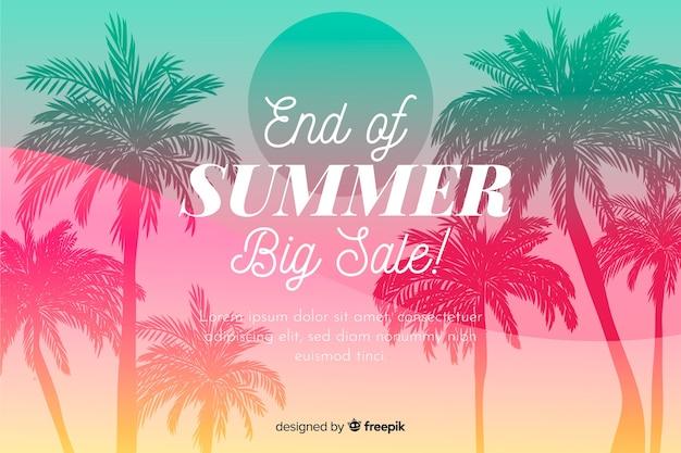 Fin des soldes d'été