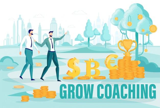 Finance grow coaching sur les cours d'entrepreneuriat