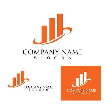 Finance logo et modèle de symbole eps10