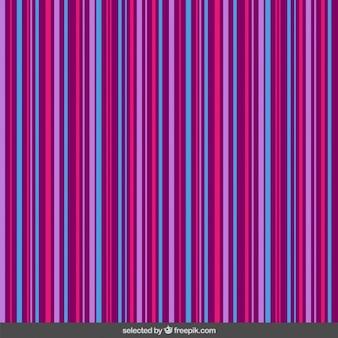 Fines rayures motif coloré