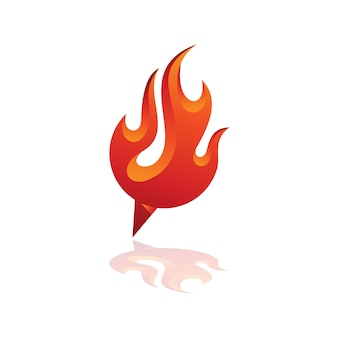 Fire point logo