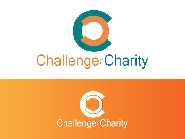 Fitness charity project logo design