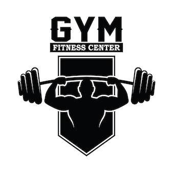 Fitness et gym logo