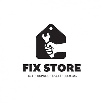Fix magasin modèle logo