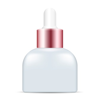 Flacon compte-gouttes d'essence de sérum cosmétique