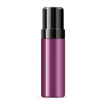 Flacon cosmétique de gel coiffant ou de crème à raser