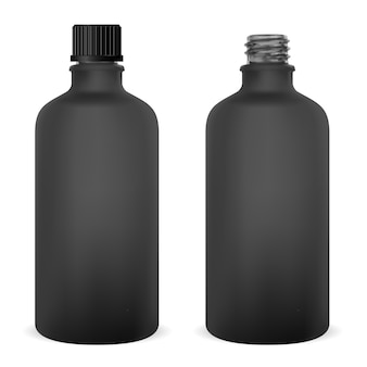 Flacon médical en bouteille de verre