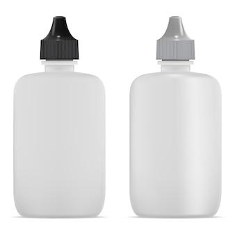 Flacon pulvérisateur nasal tube pour gouttes oculaires