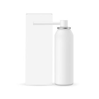 Flacon vaporisateur pour la gorge avec boîte