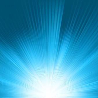 Flare dans le ciel bleu. fichier inclus