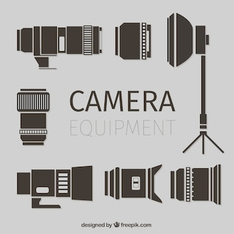 Flat caméra equiment