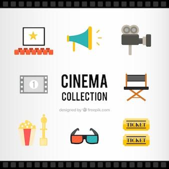 Flat collection d'accessoires audiovisuels