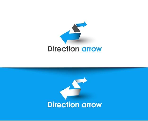 Flèche de direction web icônes et logo vectoriel