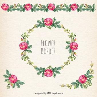 Fleur frontière