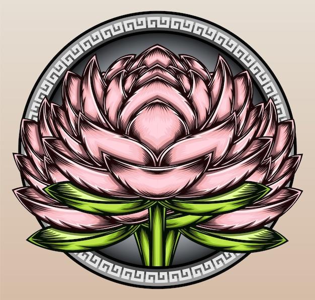 Fleur de lotus japonais.