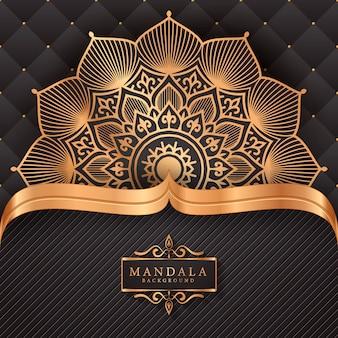 Fleur luxe mandala fond arabesque style