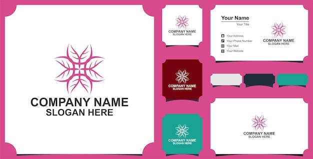 Fleur mandala ornement vecteur icône logo design