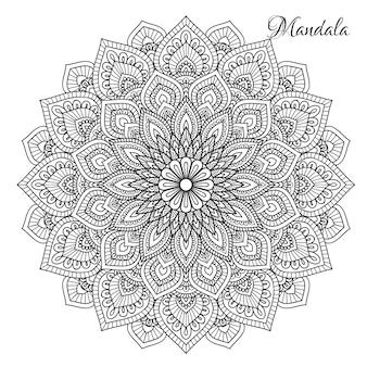 Fleur mandala.