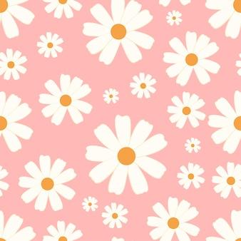 Fleur de modèle sans couture