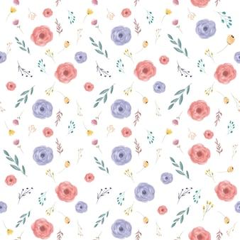 Fleur de printemps sans soudure de fond coloré fleur de printemps sans soudure de fond coloré