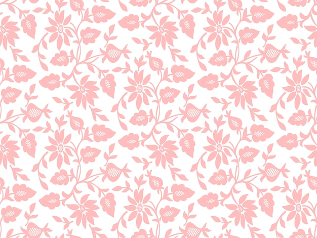 Fleur sans soudure de fond. texture élégante pour les arrière-plans.