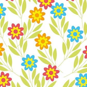 Fleurs printemps fond