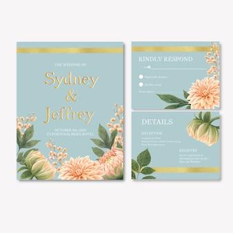 Fleurs de réception de mariage avec feuillage pastel