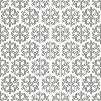 Flocon de neige gris et blanc