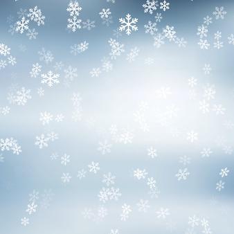 Flocon de neige de noël