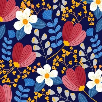 Floral abstrait