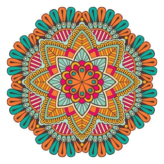 Floral background design mandala