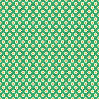 Floral pattern sans couture avec des fleurs de marguerites