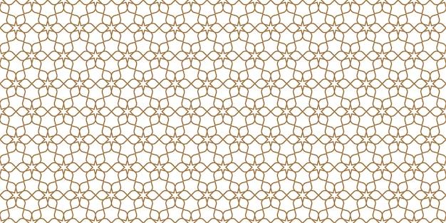 Floral pattern sans couture en style oriental, ornement délicat, texture beige et blanc