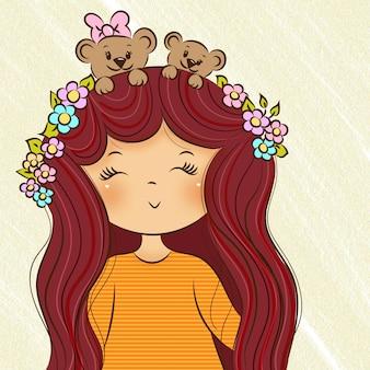 Flores de mascotte