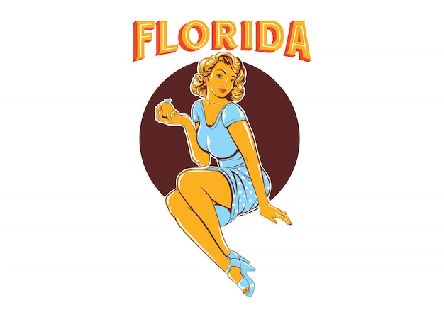 Floride pin up girls