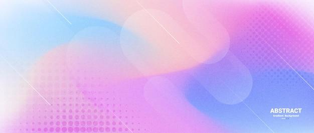 Flou abstrait coloré dégradé