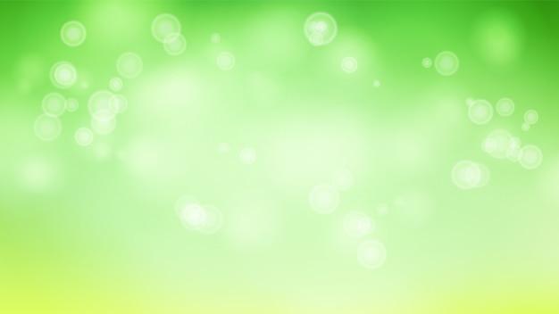 Flou fond abstrait avec des lumières brillantes