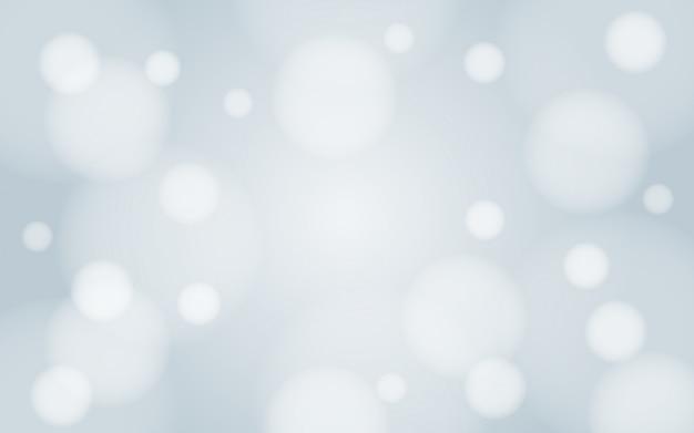 Flou gaussien neige blanche d'hiver bokeh fond papier peint design vectoriel
