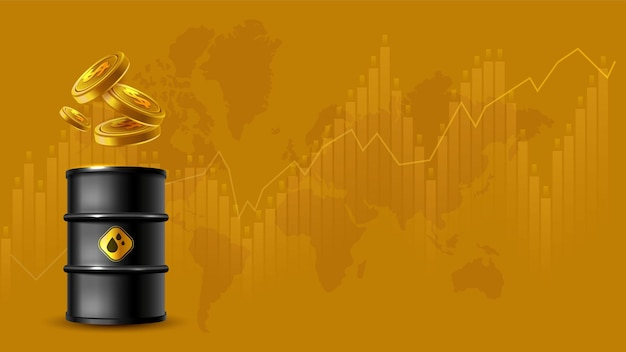 Fluctuations du concept des prix du pétrole et contexte du commerce de change