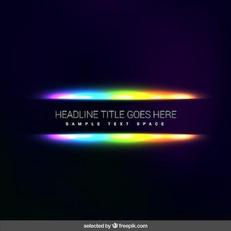 Fluorescence abstrait