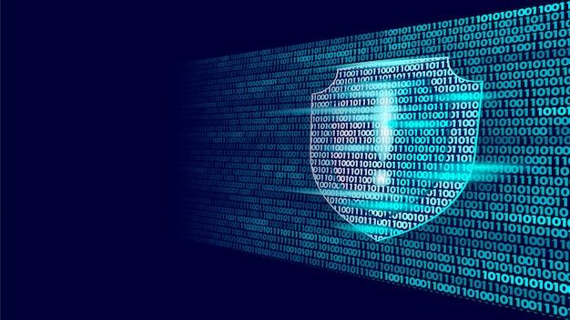 Flux de code binaire du système de sécurité de protection de protection, big data security