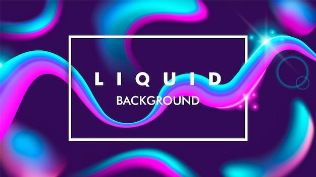 Flux de couleur et liquide