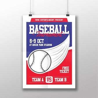 Flyer de baseball