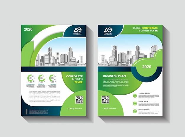 Flyer brochure design livre de couverture